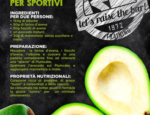 Colazione per sportivi con l'Avocado, l'elisir di lunga giovinezza