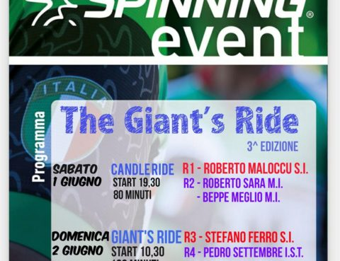Spinning Event - Giant's Ride - Oristano